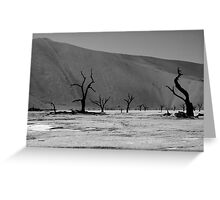 Skeleton Forest Greeting Card