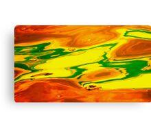 Martian Golf Course  Canvas Print