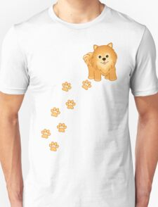 Cute Little Pomeranian Puppy Dog Unisex T-Shirt