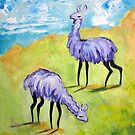 Angry Alpacas by Ellen Marcus