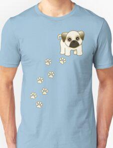 Cute Little Pug Puppy Dog Unisex T-Shirt