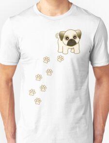 Cute Little Pug Puppy Dog T-Shirt