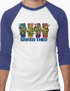 Shred This! Men's Baseball ¾ T-Shirt