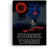 Stark Wars Canvas Print