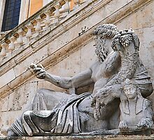 The River god Nile statue, Rome, Italy by buttonpresser