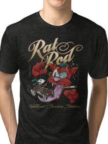 Rat Rod Hellcat Tri-blend T-Shirt