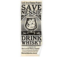 Save Nessie, Drink Whisky! Poster