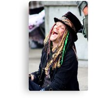 The Mad Hatter of Eugene Canvas Print
