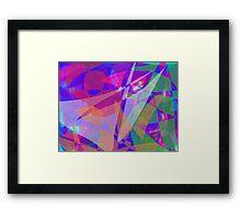 Lights in Space Framed Print