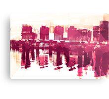 Docklands Metal Print