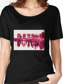 Docklands Women's Relaxed Fit T-Shirt