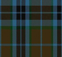 02734 Thompson-Thomson- MacTavish Hunting Clan/Family Tartan Fabric Print Iphone Case by Detnecs2013