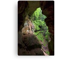 The Rock House in Ohio's Hocking Hills Canvas Print