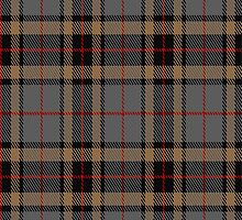 02736 Thompson/Thomson-/MacTavish (special grey) Clan/Family Tartan Fabric Print Iphone Case  by Detnecs2013