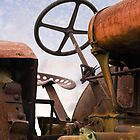 Old Rusty Tractor by Kenneth Keifer