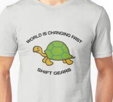 Shift Gears Unisex T-Shirt