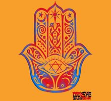 Hamsa Hand 3 Womens Fitted T-Shirt