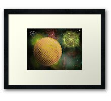 ©DA Energy Fractal Particles 01 Framed Print