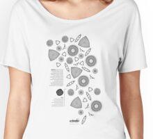 *G E O M E T R I A* Diatoms Women's Relaxed Fit T-Shirt