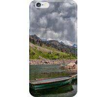 Boats at Lake Sabrina iPhone Case/Skin