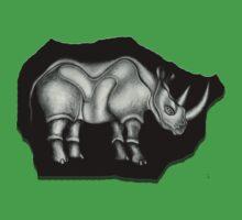 Rhino by Angelina Elander