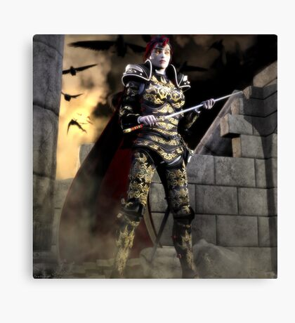 Last Queen Of The Orvar Canvas Print