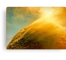 Solar Wind on the Orange Planet Canvas Print