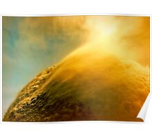 Solar Wind on the Orange Planet Poster