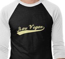 Raw Vegan Men's Baseball ¾ T-Shirt