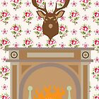 The Fireplace by selmaroberts