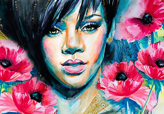 Rihanna by Slaveika Aladjova