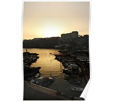 Old Town Harbour Poster
