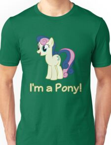 BonBon is a pony Unisex T-Shirt