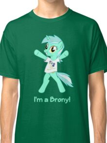 Lyra is a Brony! Classic T-Shirt