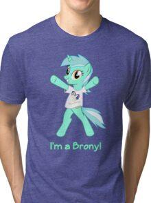 Lyra is a Brony! Tri-blend T-Shirt