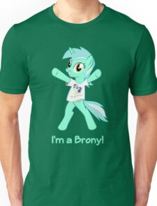 Lyra is a Brony! Unisex T-Shirt