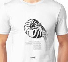 *G E O M E T R I A* Nautilus Unisex T-Shirt