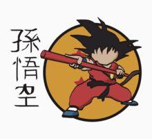 Son Goku by Ednathum
