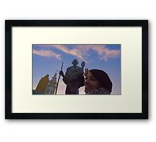 The Ferry Building - Gandhi and Kathy Peck Denny Framed Print