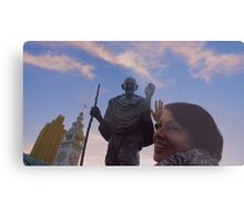 The Ferry Building - Gandhi and Kathy Peck Denny Metal Print
