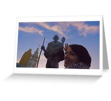 The Ferry Building - Gandhi and Kathy Peck Denny Greeting Card