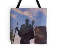 The Ferry Building - Gandhi and Kathy Peck Denny Tote Bag