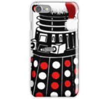 Dalek The Halls - Reindeer dalek santa iPhone Case/Skin