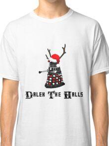 Dalek The Halls - Reindeer dalek santa Classic T-Shirt