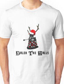 Dalek The Halls - Reindeer dalek santa Unisex T-Shirt