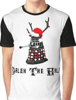 Dalek The Halls - Reindeer dalek santa Graphic T-Shirt