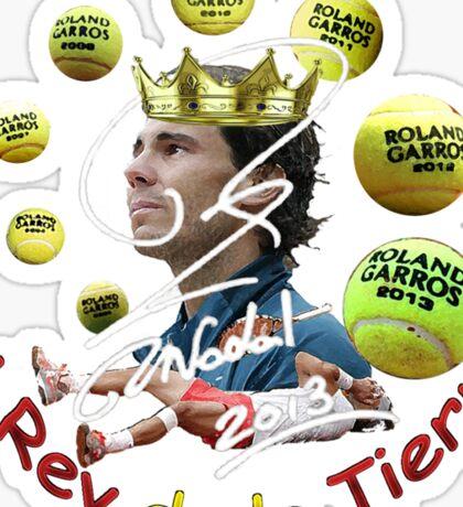 El Rey de la Tierra Sticker