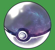 Galaxy Pokeball. Kids Clothes