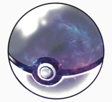 Galaxy Pokeball. Baby Tee
