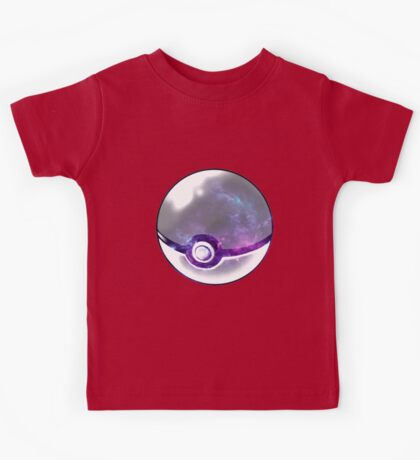 Galaxy Pokeball. Kids Tee